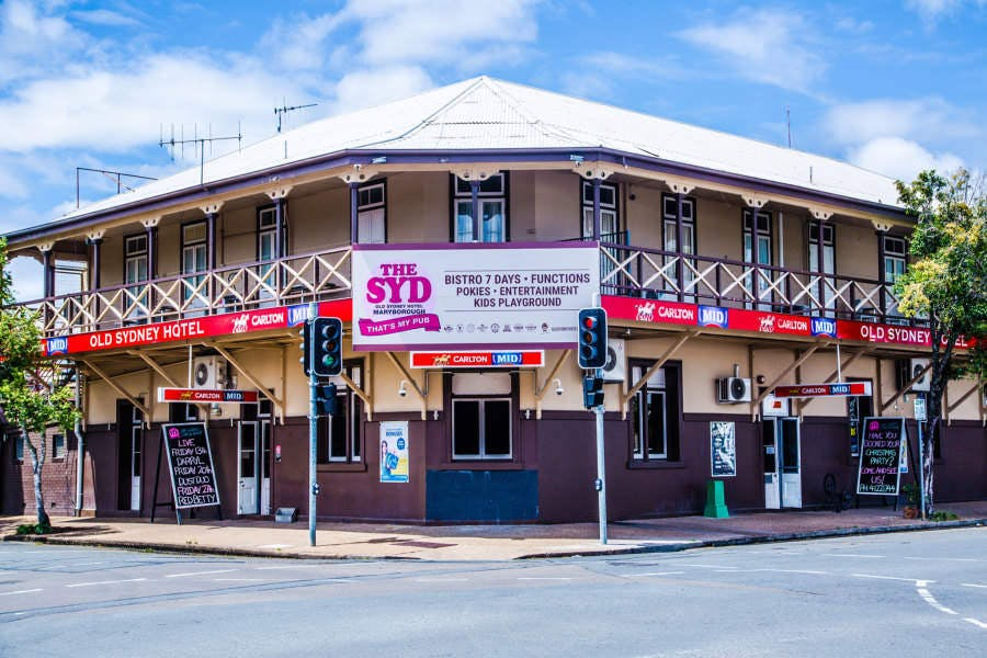 Old Sydney Hotel - Maryborough - Mackay Tourism