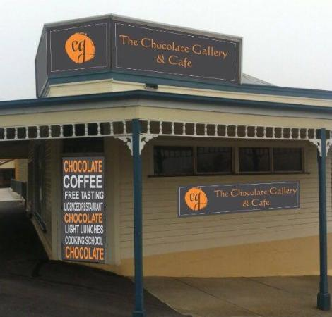 The Chocolate Gallery  Cafe - Mackay Tourism