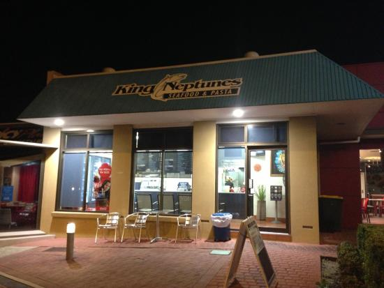 King Neptune's Seafood  Pasta - Mackay Tourism