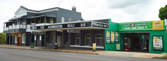 Commercial Hotel Day Dawn Restaurant - Mackay Tourism