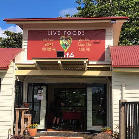 Live Foods Cafe  Restaurant - Mackay Tourism