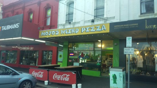 Mojo's Weird Pizza Clifton Hill - Mackay Tourism